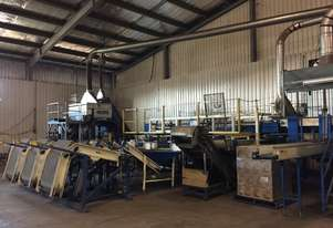 Onions, Potatoes, Carrots Packaging Line, all machine available separately