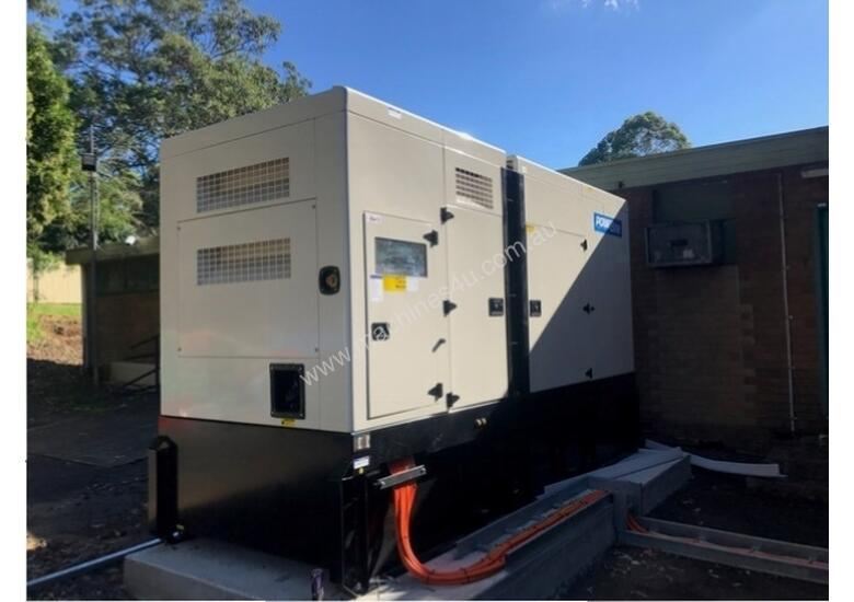 550kVA Silenced generator set with Perkins engine