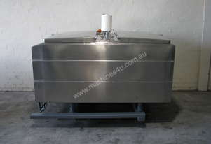 Jacketed Stainless Steel Tank Vat - 1500L