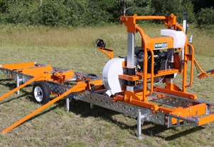 LumberPro HD36 Norwood Sawmill & Trailer combo