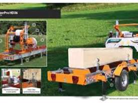 LumberPro HD36 Norwood Sawmill & Trailer combo - picture1' - Click to enlarge