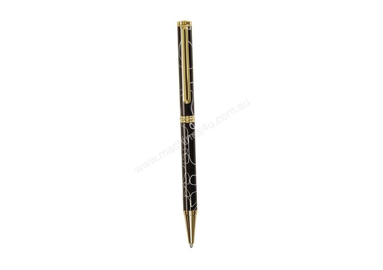 Ball Point Pen Parts Gold Finish - 5Pack