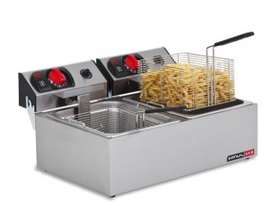 Anvil Fryer Deep Fryer Electric FFA0002 Double Pan - picture0' - Click to enlarge