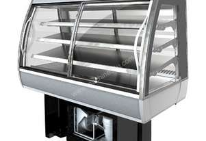 FPG 3CA08-CU-FF-I 3000 Series Controlled Ambient Integral Fixed Front Food Cabinet - 800mm