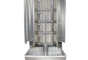 F.E.D. KMB4E Semi-automatic Kebab Machine Natural Gas 4 Burnner