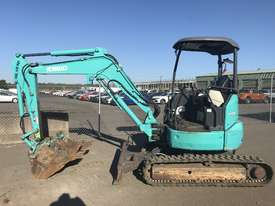 Kobelco SK35SR Tracked-Excav Excavator - picture2' - Click to enlarge