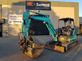 Kobelco SK45/045 Tracked-Excav Excavator - picture0' - Click to enlarge