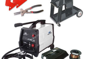 Metaltech140 Gas/Gasless Mig Welder Kit