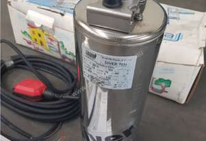 Submersible Pump DIVER 75M by TESLA, Made in Italy, New in Box, 850W 240v, Including Remote