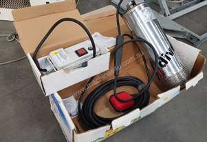 Submersible Pump DIVER 75M by TESLA, Made in Italy, New in Box, 850W 240v, Remote $1,200 Incl GST