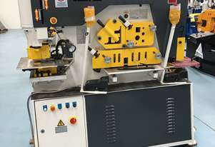 PUNCHTECH 120 TON IRON WORKER | HYD PLATE CLAMPING | LASER ALIGNMENT LIGHT | PRESS BRAKE TOOLING