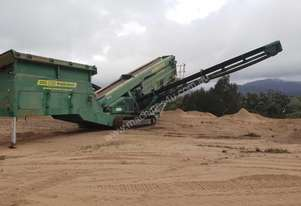 Striker 1112R Impact Crusher & McCloskey S190 Screening Plant