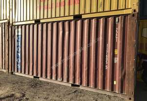 20 Foot Shipping Container WIND & WATER TIGHT