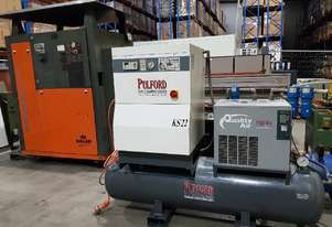 ITALIAN 15Kw SCREW COMPRESSOR PACKAGE / GERMAN 7.5Kw AIRCENTER PACKAGE / AIR DRYERS from $3,300.