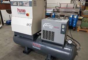 ITALIAN 15Kw SCREW COMPRESSOR PACKAGE + GERMAN 7.5Kw AIRCENTER PACKAGE + AIR DRYERS from $3,300