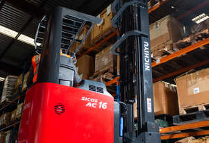NEW NICHIYU FBRF HIGH REACH FORKLIFT