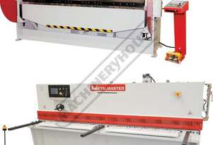 PB-830A & SG-2504E Hydraulic Panbrake & Guillotine Package Deal Panbrake: 2500 x 4mm - Guillotine: 2