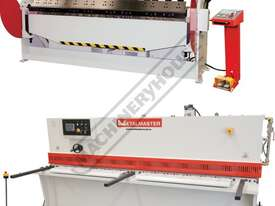 PB-830A & SG-2504E Hydraulic Panbrake & Guillotine Package Deal Panbrake: 2500 x 4mm - Guillotine: 2 - picture0' - Click to enlarge