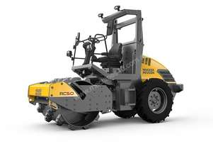 Wacker RC50 Single Drum Soil Compactor