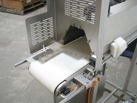 Stainless Steel Variable Speed Motorised Belt Conveyor - 1.3m long - picture4' - Click to enlarge
