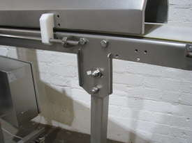 Stainless Steel Variable Speed Motorised Belt Conveyor - 1.3m long - picture6' - Click to enlarge