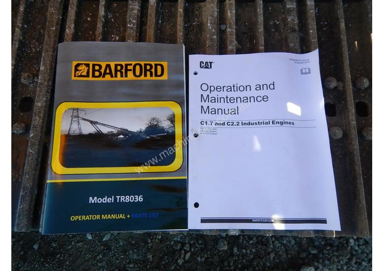 2018 Unused Barford TR8036 Tracked Conveyor