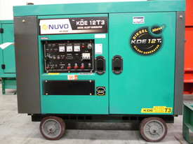 10.5kVA Nuvo Enclosed Used Generator Set  - picture0' - Click to enlarge