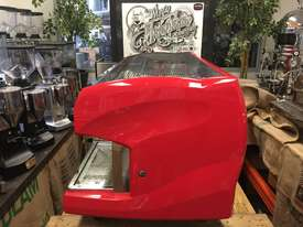 WEGA POLARIS 3 GROUP RED ESPRESSO COFFEE MACHINE - picture3' - Click to enlarge