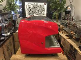 WEGA POLARIS 3 GROUP RED ESPRESSO COFFEE MACHINE - picture6' - Click to enlarge