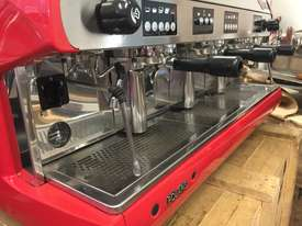 WEGA POLARIS 3 GROUP RED ESPRESSO COFFEE MACHINE - picture7' - Click to enlarge