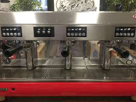 WEGA POLARIS 3 GROUP RED ESPRESSO COFFEE MACHINE - picture8' - Click to enlarge