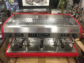 WEGA POLARIS 3 GROUP RED ESPRESSO COFFEE MACHINE - picture10' - Click to enlarge
