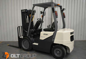 Crown CD25S-3 2.5 Tonne 4300 Lift Height 3 Stage Container Mast Forklift