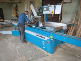 MARTIN T75 Double blade tilting panel saw  - picture7' - Click to enlarge