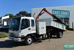 2006 ISUZU FRR 525 Tipper Crane Truck Service Vehicle