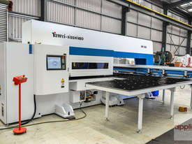 New Yawei HPE-3058 CNC Turret Punch Press. Siemens 840D & upgraded turret. - picture0' - Click to enlarge
