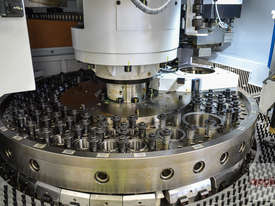 New Yawei HPE-3058 CNC Turret Punch Press. Siemens 840D & upgraded turret. - picture3' - Click to enlarge