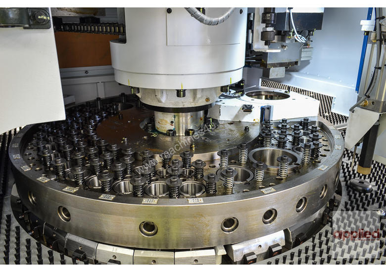 New Yawei HPE-3058 CNC Turret Punch Press. Siemens 840D & upgraded turret.