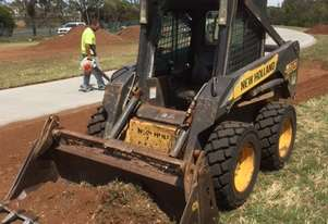2008 New Holland L170 skidsteer loader