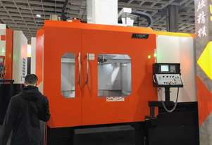 Ex-Works Taiwan Show Special 1600mm Chuck CNC Vertical Lathe with Live Tooling