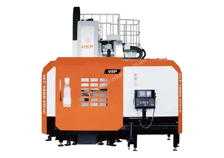 Ex-Works 1600mm Chuck CNC Vertical Lathe with Live Tooling