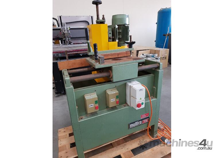 OSCILLATING SLOT MORTISER PADE MSO. PADE ROUND END TENONER Twin Table. DUST EXTRACTOR