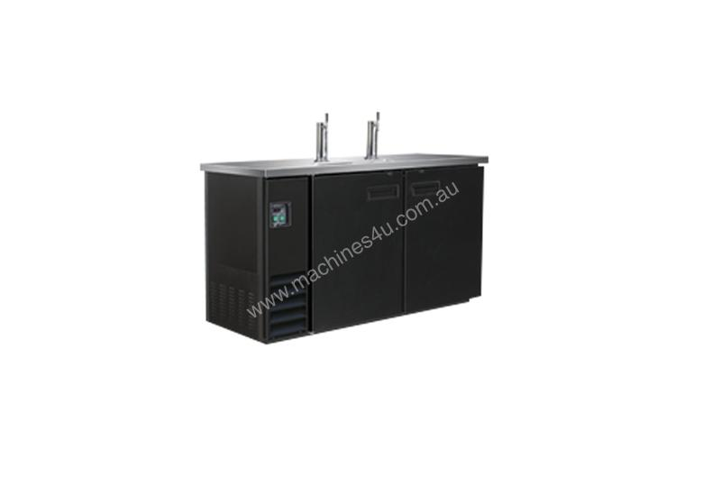 Double Door Underbar direct draw dispenser 2-barrel UBD-2