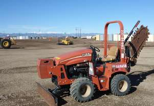 Ditch Witch RT45 4x4 Ride-On Trencher Deutz Diesel Front Blade