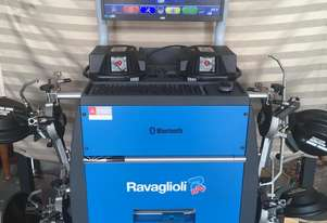 RACAGLIOLI RAV TD 3000 HP.B COMPUTERIZED WHEEL ALIGNMENT