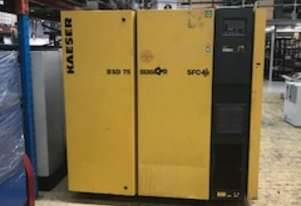 ***SOLD*** Kaeser BSD75SFC 2014 model Variable Speed Drive Rotary Screw Compressor