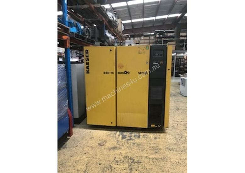Kaeser BSD75SFC 2014 model Variable Speed Drive Rotary Screw Compressor