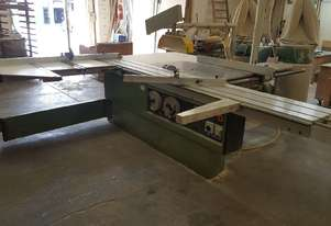 Griggio panel saw for with 2 blades and dust extractor unit included