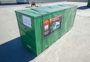 LOT # 0193 Double Trussed Container Shelter