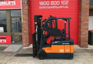 TOYOTA FORKLIFTS 7FBE18 S/N 58726 CONTAINER MAST